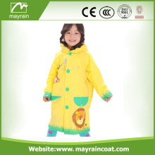 High Quality Fabric Polyester Kid' s Raincoat