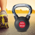 Hollow Rubber Coated Steel Kettlebell