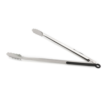 16 inch Soft Grip Handle Stainless Steel Tongs