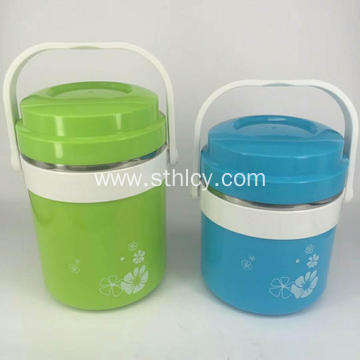 2 Layer Thermal Insulation Stainless Steel Food Container