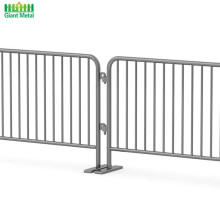 Steel Portable Road Traffic Metal Crowd Control Barrier