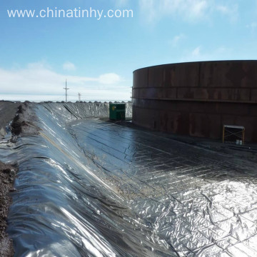 LDPE geomembrane can withstand temperatures of 96°C.