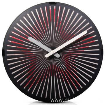 Retro Wall Clock With Star