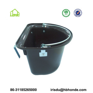 Customized Color Plastic Horse Feeder Bucket