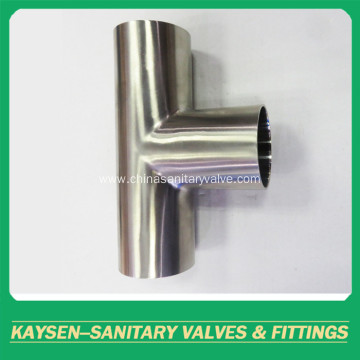 SMS/DS Sanitary long type welded Tee