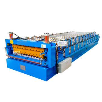 Double Layer Trapezoid Color Steel Roof Sheet machine