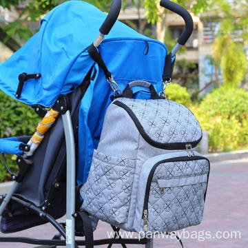 Stylish Travel Designer Stroller Straps Nappy Backpack
