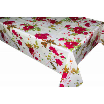 Elegant Tablecloth with Non woven backing Panel