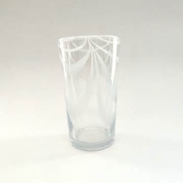 modern wine glass hiball glass tumbler set