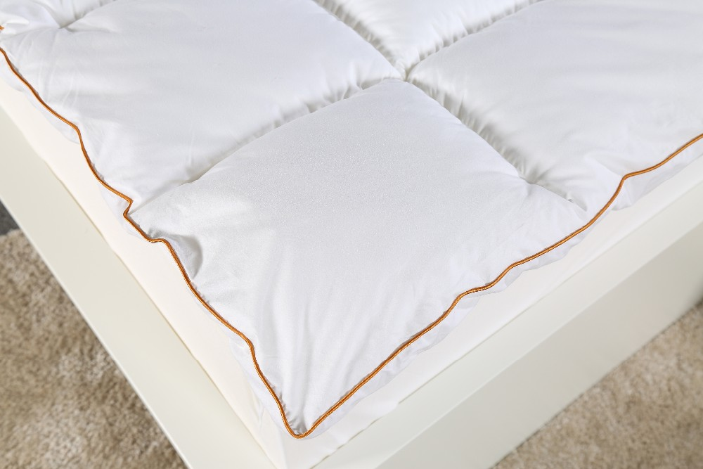 Microfiber Mattress Topper , Quilted Mattress Topper , Microfiber Mattress Topper , White Cotton Cover Mattress Pad