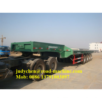 Sinotruk/CIMC 60t-100t 3 axles low bed semi trailer