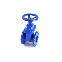WCB A105 flange end stainless steel metal seal gate valves for water pipeline