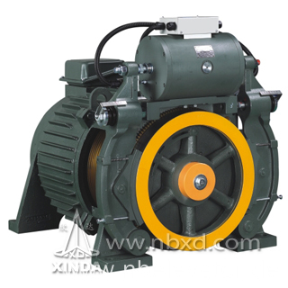 Gearless Traction Machine Double Wrap