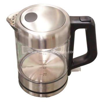 Electronic Glass Water Kettle Stove Top