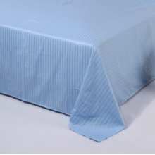 China Manufacturers for Bleached Sateen Sheets CVC 40s 250TC Sateen Stripe Top Sheets supply to Poland Manufacturer