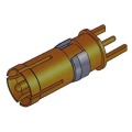 Signal D-SUB Coaxial Contact Vertical Female