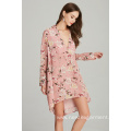 hot sale womans ladies printed floral dress