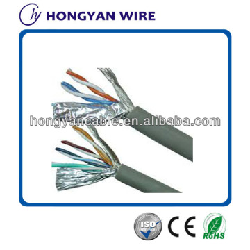 Factory source for UTP Cat 5e Network Cable BC/CCA 4p FTP CAT5e cable lan/ftp lan cable cat5/cat6 lan cable supply to Sao Tome and Principe Factory