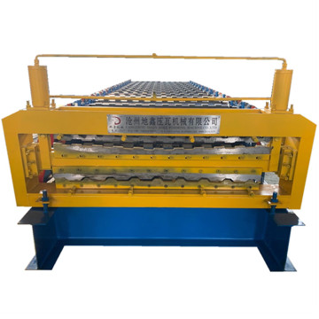 Trapezoidal double sheet automatic roll forming machine