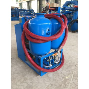 Pensijilan CE Penebat polyurethane spray foam machine