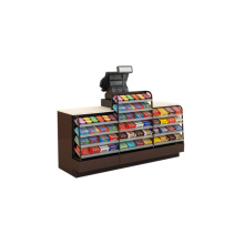 Cheap PriceList for Cash Register Steel Shelf Checkout Counter export to Reunion Wholesale