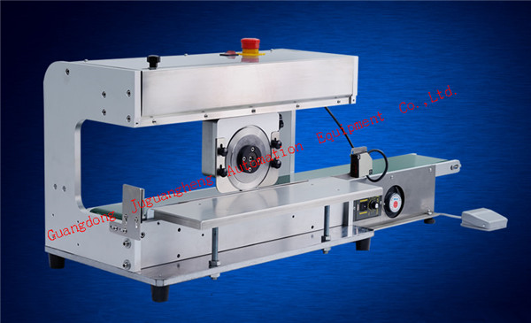 SAMTECH JGH-208 PCB cutting machine with delivery platform (3)