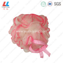 elegant lady care mesh sponge ball