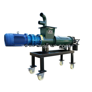 Chicken manure or cow dung dewatering machine