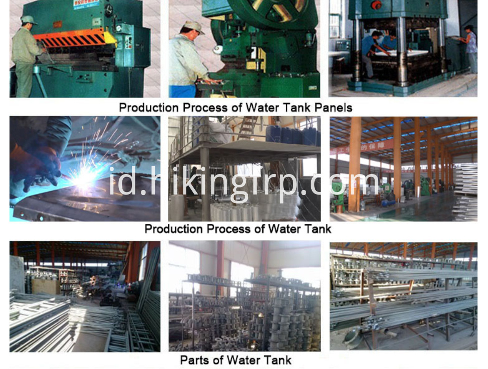 Small Size FRP Water Tank