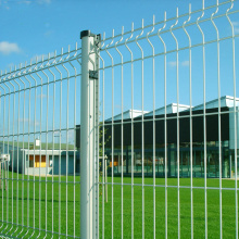 Good Quality for Steel Fibric Fence Airport Welded Metal Mesh Fence Netting supply to United States Factory