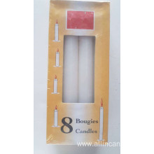 18cm candle 36g white candle cameroun candle