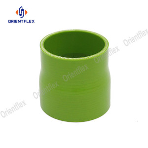 4inch to 3inch colorful straight reducer silicone hose