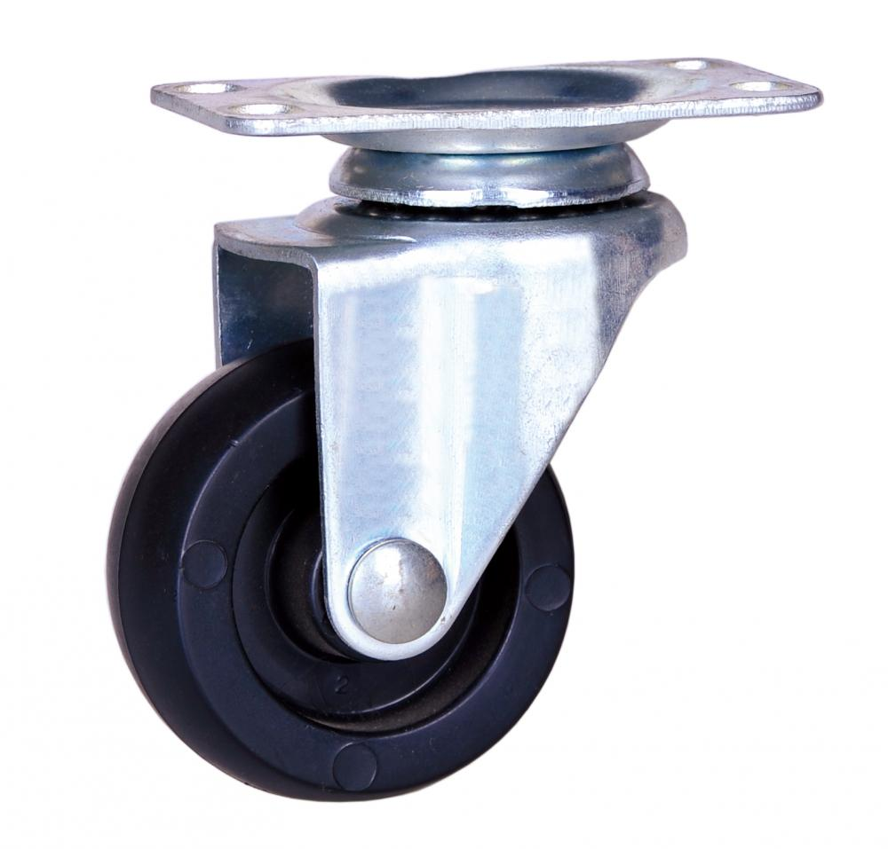 2 inch polypropylene wheel casters with Delrin bearing