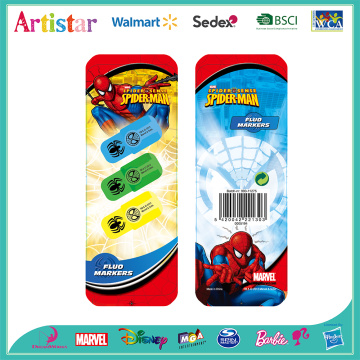 Spiderman highlighters
