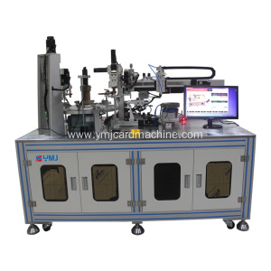 Smart Card Coil Winding and Welding Machine
