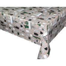 Elegant Tablecloth with Non woven backing Ply Paper