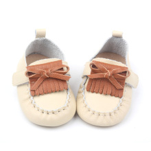Cute Leather Baby Causal Shoes Toddler Bowkot shoe