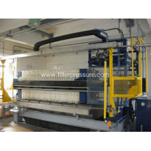 Best Selling Metallurgy Cast Iron PLC Filter Press