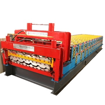 High Technology double sheets new roll forming machine