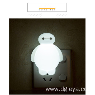 Children bedroom night lamp bedroom bedside plug type