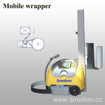 Mobile Wrapper Pallet Packing Machine
