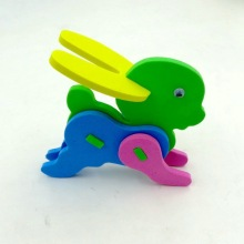 OEM for EVA Playing Puzzle Eva animal rabbit educational toy supply to Russian Federation Exporter