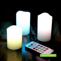 Remote Control Led with Multi Color Flameless Candle