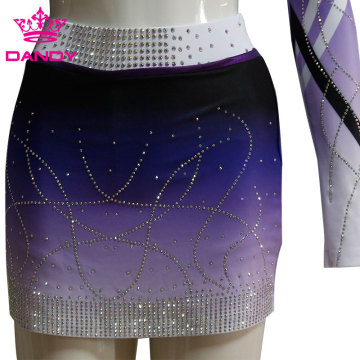 Custom Full Dye Sublimated Ombre Cheerleader Costume