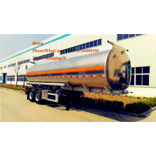36000 Liters Fuel Tank Trailer With Recovery System