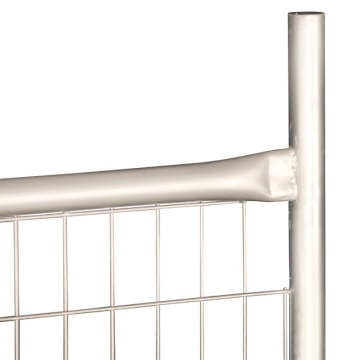 Convenient outdoors powder coating temporary fence