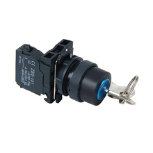 Good Quality for Small Push Button Switch XB5AG21 Select Switch with Key supply to Ethiopia Exporter