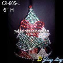 Top for Candy Pageant Crowns Holiday Christmas tree Crown And Tiaras export to Lesotho Factory