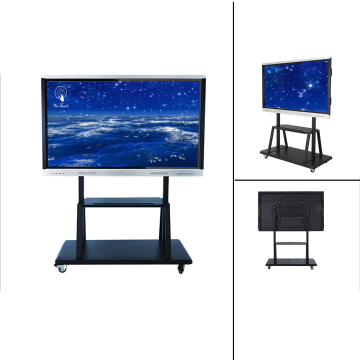 75 Inches Smart Screen With Mobile Stand