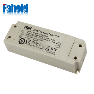 Non-flicker 45w electronic triac dimmable driver
